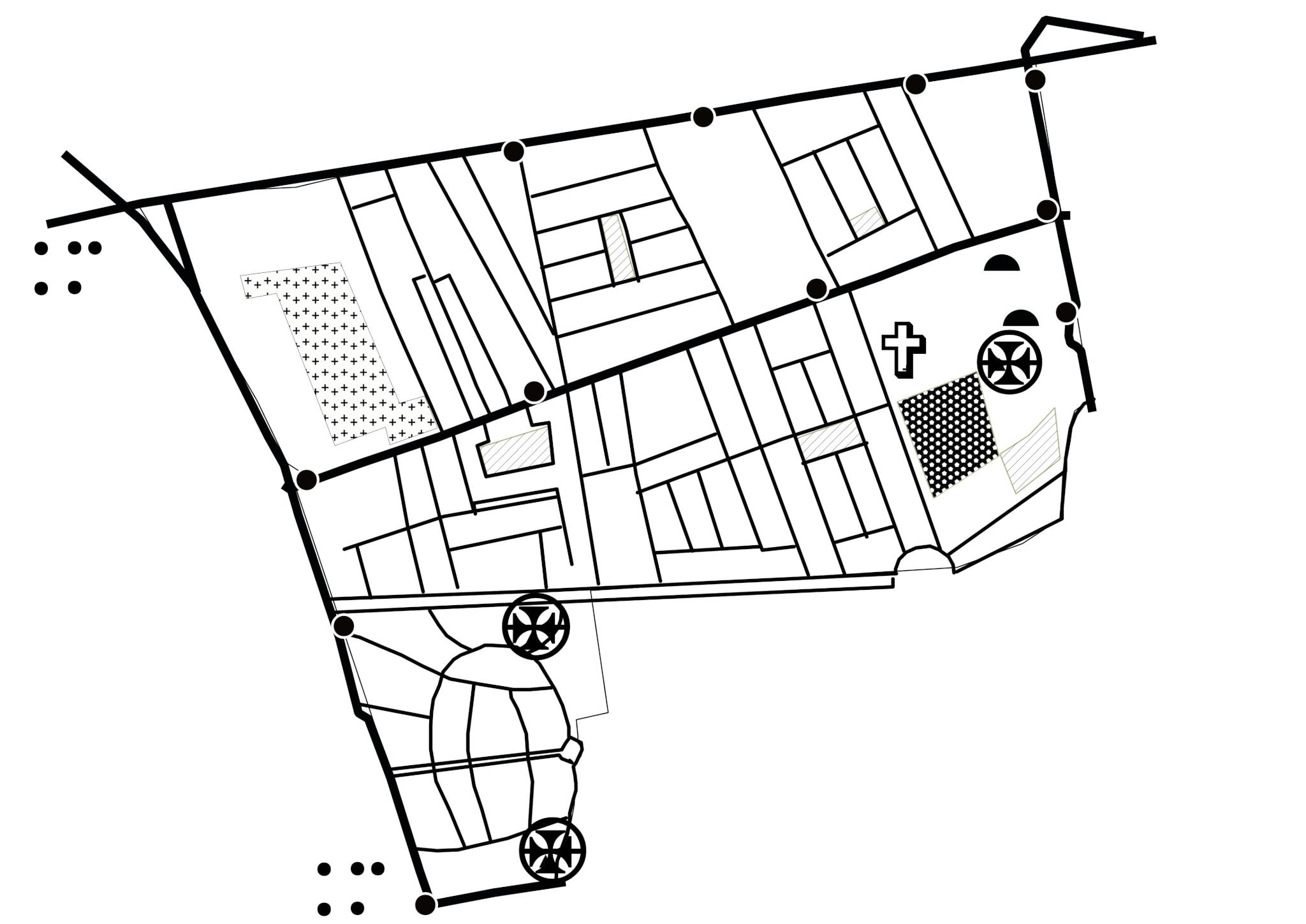Harta cartierului Vatra Luminoasa, București