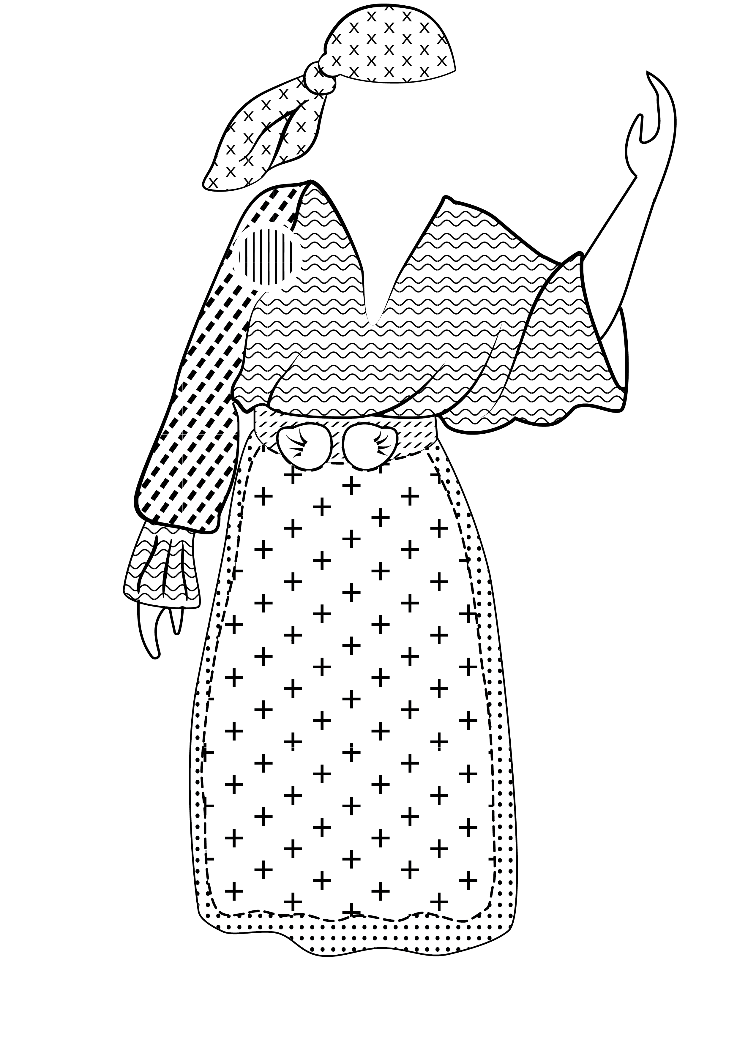 queen mary's traditional costume