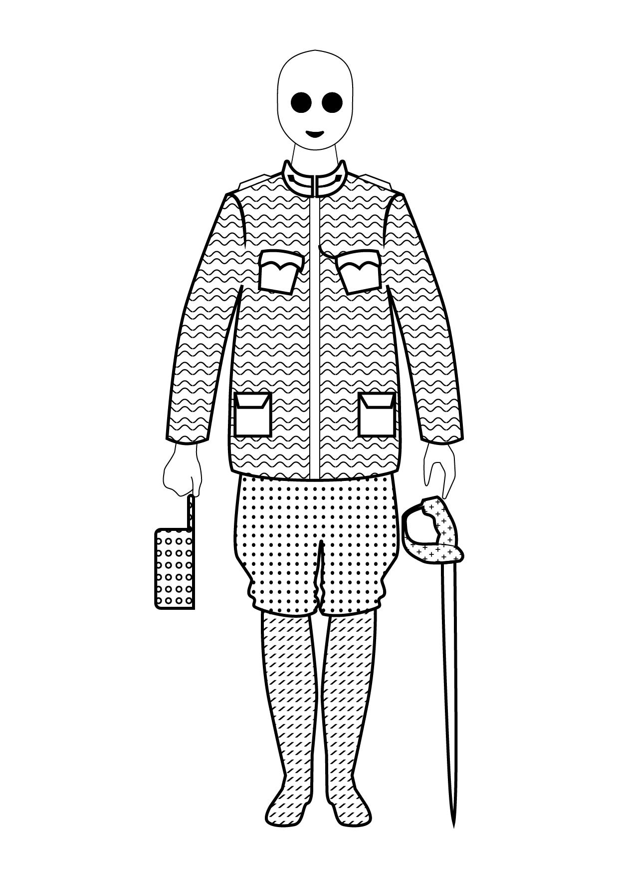 Ofițer Cavalerie, Primul Război Mondial