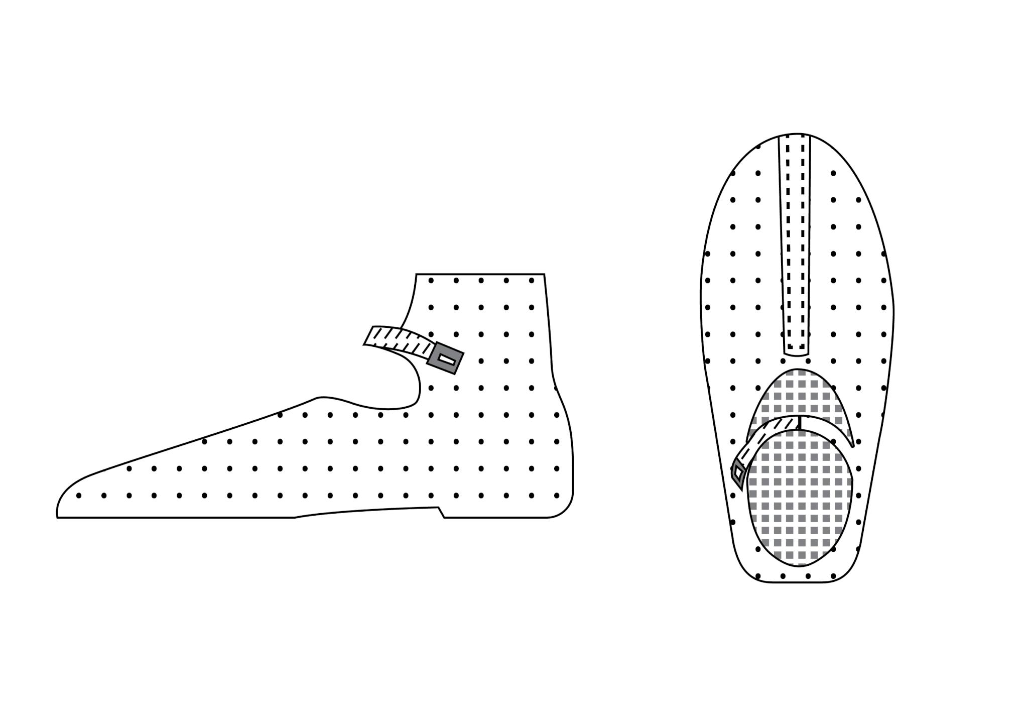 peasant sandal