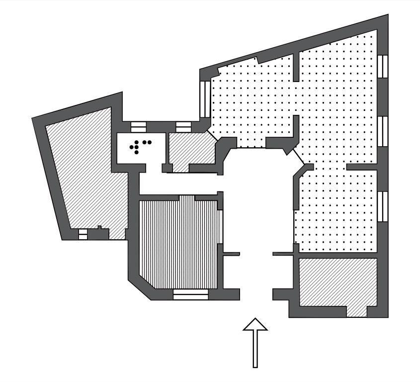 artera gallery map plan