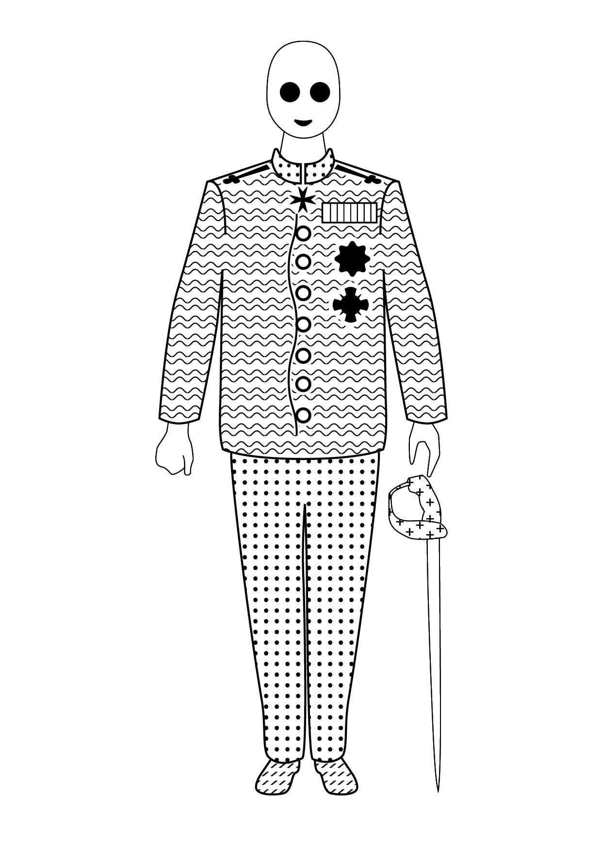 king carol's uniform