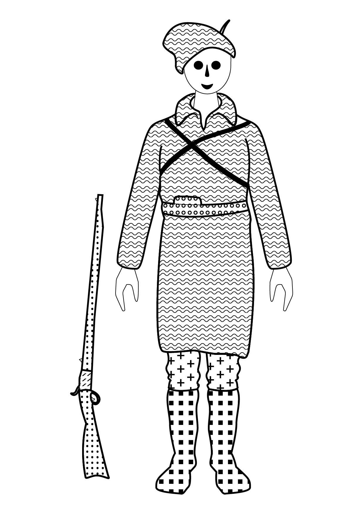 romanian army's uniform in the independence war