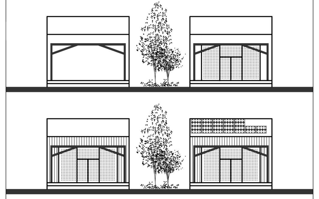 Over4 – Fassade Süd